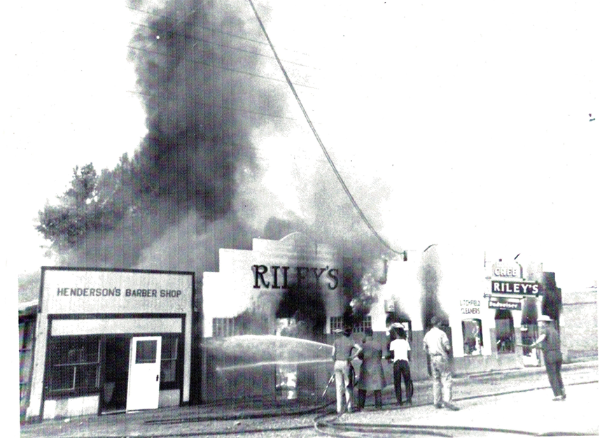 My Dad Fightiing a FIre in Old Town Avondale